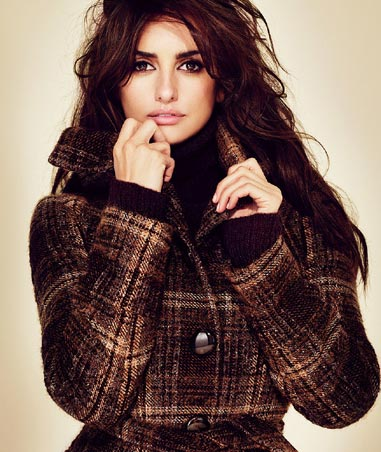 Penelope Cruz for MANGO Fashion