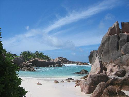 la digue beach, seychelles