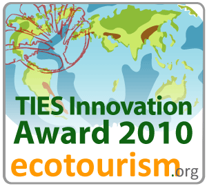 Innovation Award - Recognizing Innovative Leadership in Sustainable Tourism