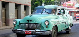 cuban cab 323x152 - Five Destinations to Add to Your Bucket List