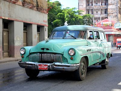 cuban cab - Five Destinations to Add to Your Bucket List