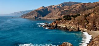 bigsurcalifornia panoramic 323x152 - 12 Free California Road Trip Itineraries