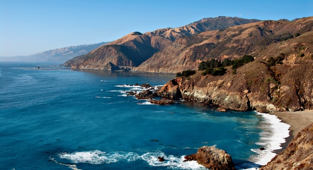 bigsurcalifornia panoramic - 12 Free California Road Trips